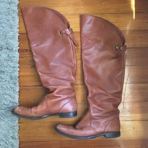 Coach Cheyenne Leather Boot size 9 1/2